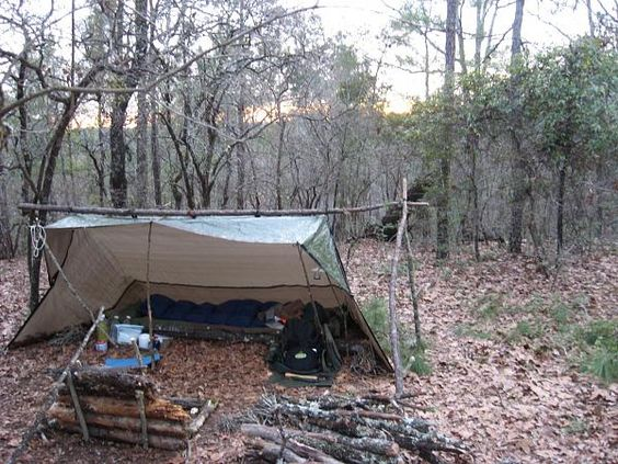 Tent Tarp Larger And Hammocks On Pinterest