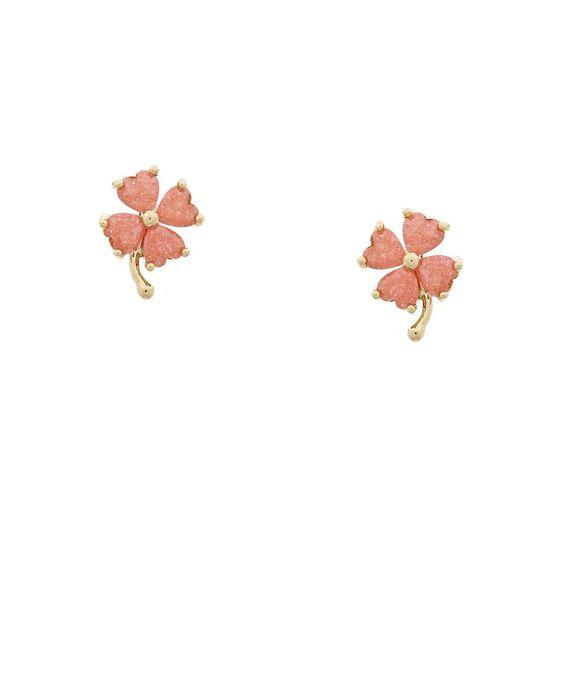 Heavenly Hibiscus Earrings - Pink #shoplately