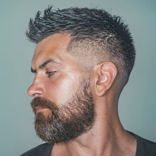 15+ Haircuts for men with big foreheads ideas