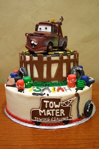 My little guy would love this for a birthday cake