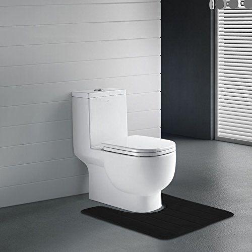 Essentialmall Bathroom Rug Mat Set Large And Contour Bath Mat Set