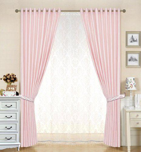 "R.LANG Faux Silk Grommet Curtain Panels 1 Pair Pink W54""x L108"" R.LANG,http://www.amazon.com/dp/B00G96IAO2/ref=cm_sw_r_pi_dp_8dUstb0MH5JJ6NSQ"