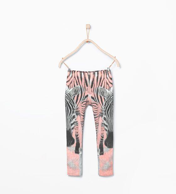 ZARA - KIDS - Animal print leggings