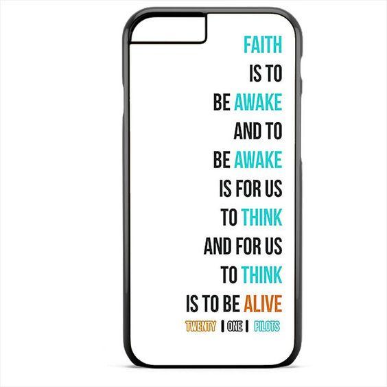 Twenty On Pilots Car Radio Lyrics White Cover TATUM-11438 Apple Phonecase Cover For Iphone SE Case