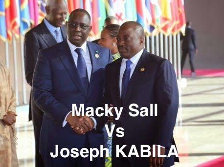 MACKY SALL NE DECOLERE PAS CONTRE JOSEPH KABILA A PROPOS DE L'AFFAIRE DE«Y'EN A MARRE» QUI DEVIENT UNE AFFAIRE D'ETAT