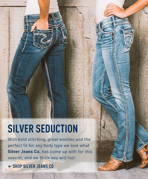 True Silver Jean Seduction @Bootlegger #SilverJeans