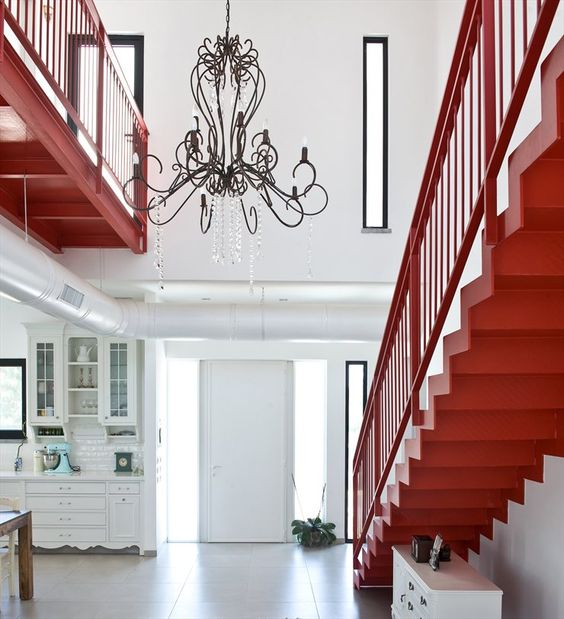 house s by Sharon Neuman Architects #architecture #design #interiors #red #interiordesign