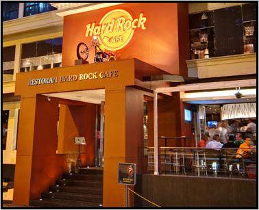 Kuala Lumpur :: bottomless pit at Hard Rock Cafe