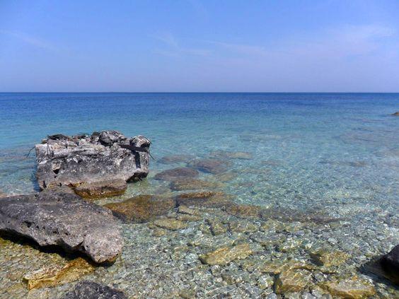 ... Pot Island, Lake Huron (so clear!) http://i.imgur.com/SJygZE8.jpg