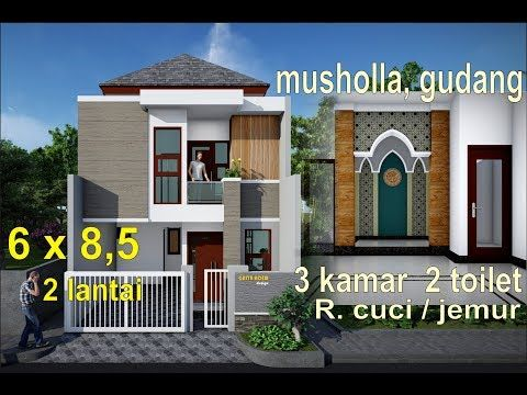 Design Rumah Minimalis Modern Split Level Youtube Rumah Minimalis Denah Rumah Rumah
