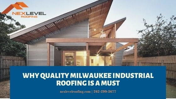 Why Quality Milwaukee Industrial Roofing Is A Must Do You Have A Commercial Building The Needs Roofing Repairs Or Roof In 2020 Roofing Industrial Roofing Roof Repair