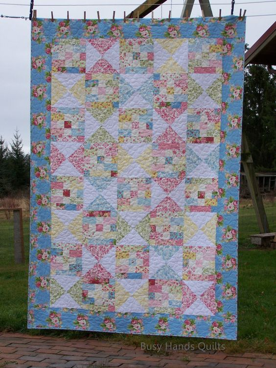 Quilts For Sale, Twin Quilt, Girl Quilt, Gift Quilt, Made in USA ... : old fashioned quilts for sale - Adamdwight.com