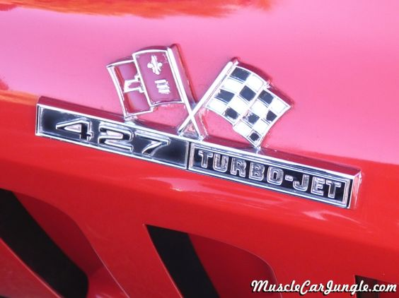 1966 Corvette 427 Emblem | Muscle Car Emblems | Pinterest ...