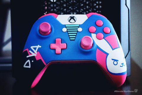 D Va Custom Xbox One Controller Custom Xbox Xbox Controller