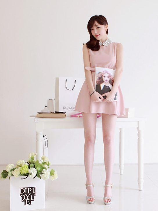 #cute #girl #fitting #model #korean
