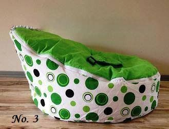 Baby Bean Bag Chair and Bed for Infants, Toddlers/Kids