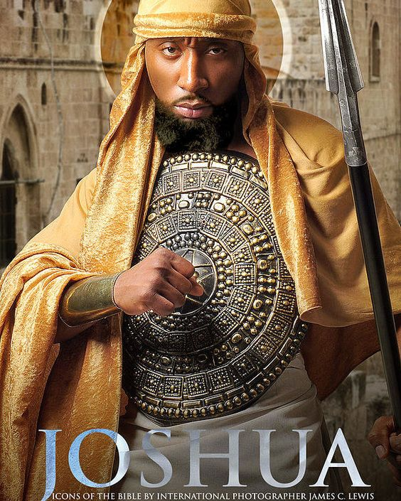 Joshua Poster by Icons Of The Bible.  All posters are professionally printed, packaged, and shipped within 3 - 4 business days. Choose from multiple sizes and hundreds of frame and mat options.