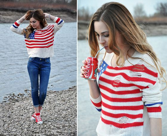 Made in USA (by Karina P.) http://lookbook.nu/look/3295973-Made-in-USA