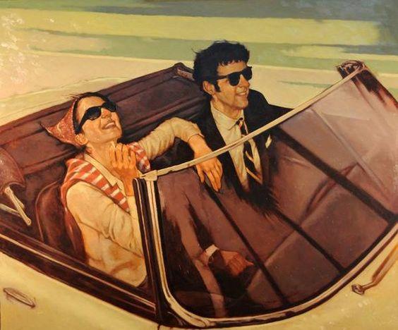 .Joseph Lorusso 1966 -  American Figurative painter