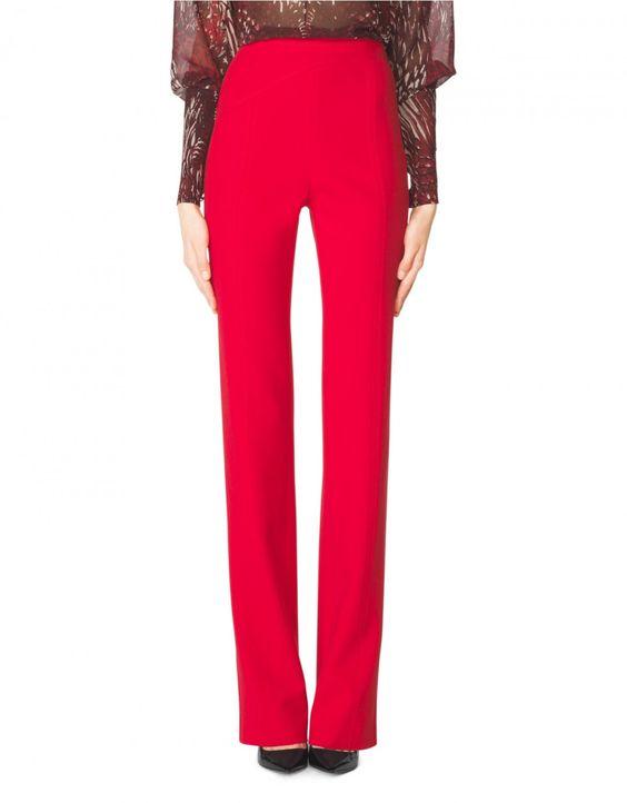 Asymetrical Seam Pant - Designer Pants | Tamara Mellon