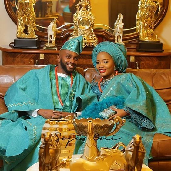 Couple #asoebi #asoebispecial #speciallovers #wedding @beautywise_bola  @sojioni