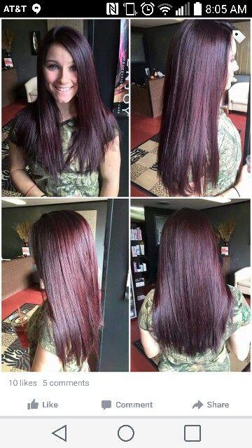 Dark brown violet