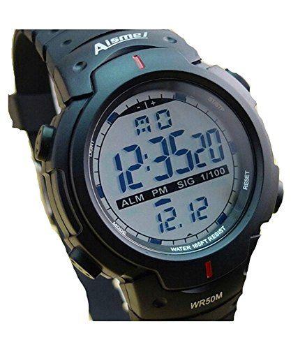 DAYAN Neueste gute Qualität Digital-Uhr wasserdichten Outdoor-Uhren Sportuhr digitale Chronograph für Herren Farbe Schwarz - http://kameras-kaufen.de/dayan/dayan-maenner-frauen-multifunktions-sport-coole-16