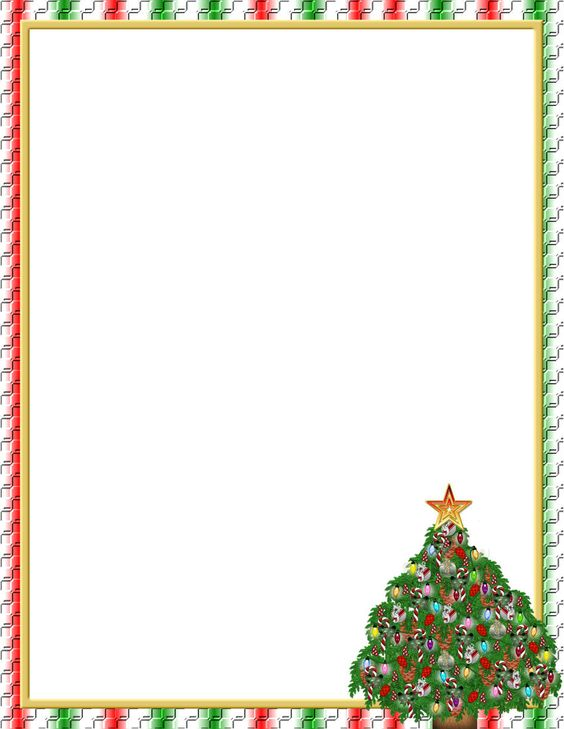 Christmas Borders For Word Best Template Collection EiN2AGyb – Word Borders Template
