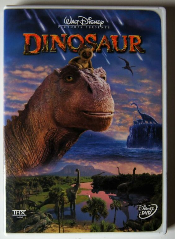 Dinosaur Dvd 2001 Classic Walt Disney Movie Disney Dinosaur Dvd Walt Disney Movies Dinosaur Movie