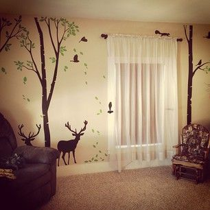 Deer Baby Boy Rooms And Room Baby On Pinterest