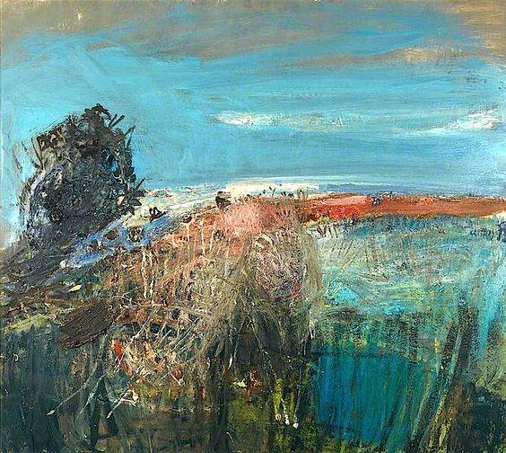 Joan Eardley A Field by the Sea – Summer