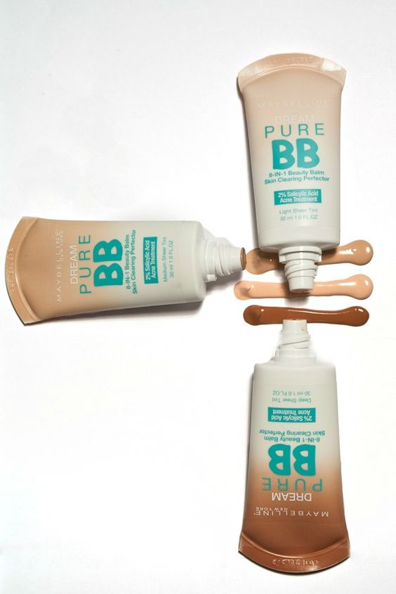 Maybelline Dream Pure BB:  BB Cream for Breakouts... need to try these out esp around that time of the month !: