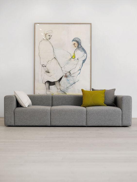 Mags Sofa - 3-Sitzer - Hay