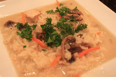 Lemony Chicken & Rice Soup