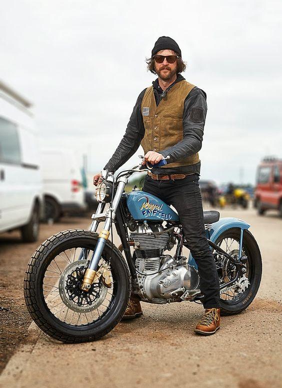 Cool moto, cool rider