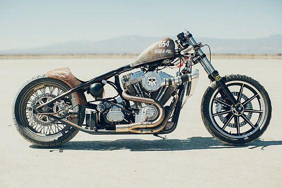 Salt Flat Harley - Chris Bridgewater Racing   |  Pipeburn.com