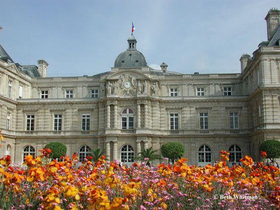Parisian Luxembourg Gardens