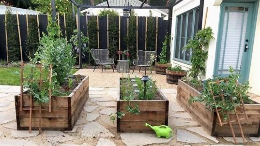 Vegetable Gardening Raised Beds Los Angeles Sustainable