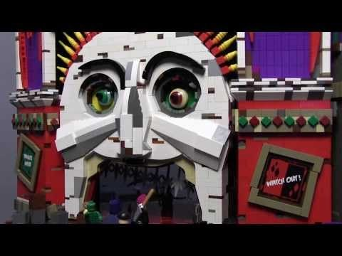 The Joker's Massive Animated LEGO Funhouse [Video]