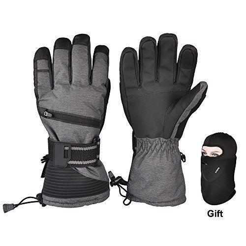 Ski Gloves Winter Warmest 3m Insulation Waterproof Snow Gloves With Free Ski Gloves Snow Gloves Gloves