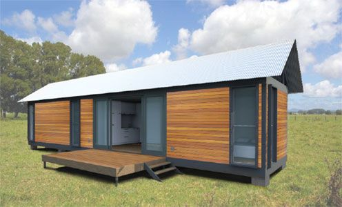 Quickshack modular prefabricated dwelling prefabricated for Modular granny flats
