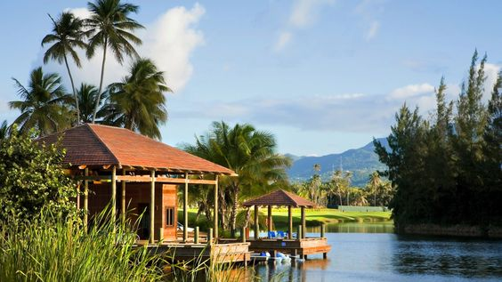 St. Regis Bahia Beach.  The Boathouse where all sailing, paddleboards, kayaks are free to use.  Let us plan your getaway.  www.OceansAndLands.com