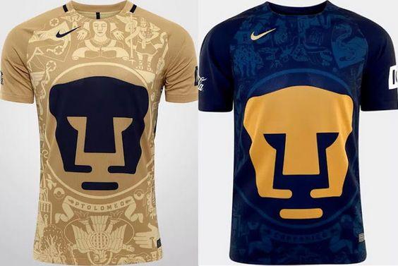 Ceci est le nouveau Maillot de foot Pumas UNAM pas cher pour la saison 2016/2017;: