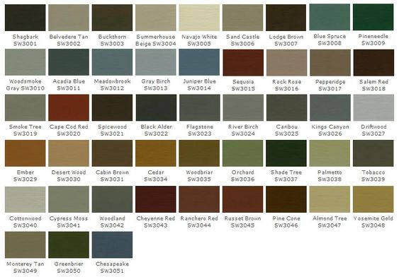colors exterior paint colors products brown color charts doors charts. Black Bedroom Furniture Sets. Home Design Ideas