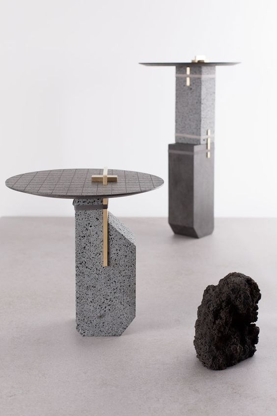 A Force of Nature: Studio Formafantasma Transforms Volcanic Rocks into Design Objects | Yatzer