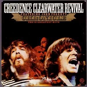 Creedence Clearwater Revival.  Chronicle.  For me, CCR IS the sound of the early to mid 1970's (along with the Steve Miller Band and The Eagles).  Always playing in the background.