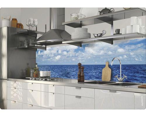 Klebefolie mySPOTTI splash Horizon 280x60 cm - nischenplatten für küchen