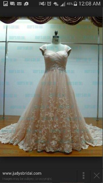 Lace aplique dress