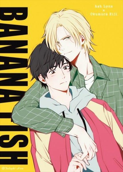 Ash X Eiji Banana Fish Anime