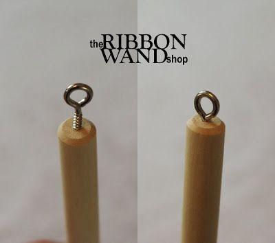 the Ribbon Wand shop: Celebration Streamer Wand Tutorial